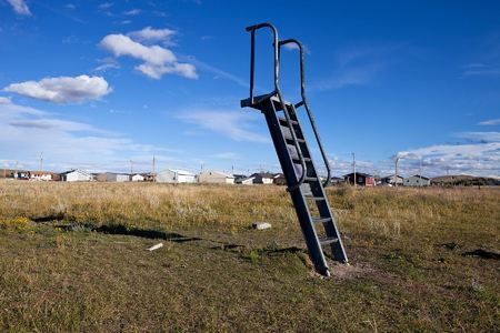 Abandoned Playground, Heart Butte, 