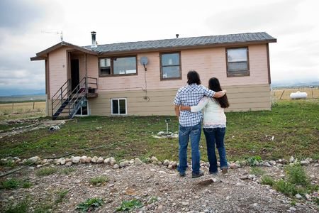 Heather and Shaw reflect on the ups and downs of their first year after marriage in their new home outside of Starr School on the Blackfeet Reservation.  The couple struggles to raise their four daughters: