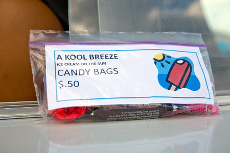 In the summer of 2013, Kool Breeze expanded their menu to include a wider variety of ice cream plus mixed candy bags and beverages.